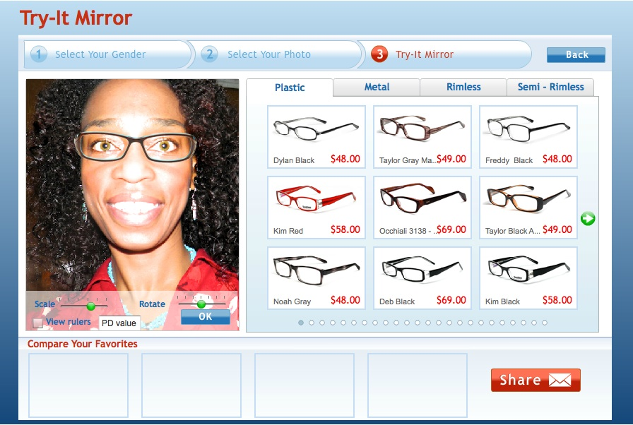 Try It On Glasses Frames : I See Great Eyewear! Bubbling with Elegance and Grace