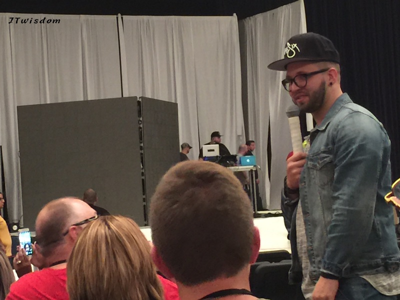 Andy Mineo Q/A before concert