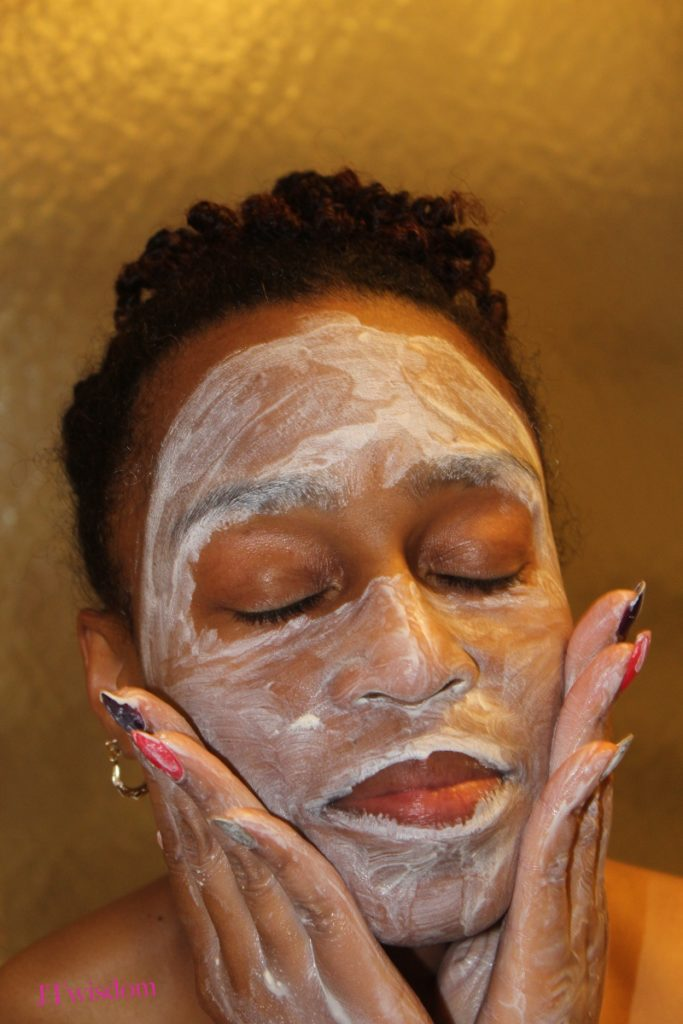 Citrus Clear pore & blackhead extracting mask