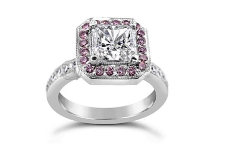 Wedding Rings With Pink Diamonds 56 Best As previously mentioned one